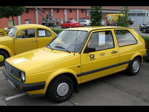 VW golf mk2 Deutsche Post