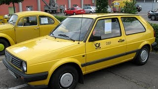 VW golf mk2 Deutsche Post