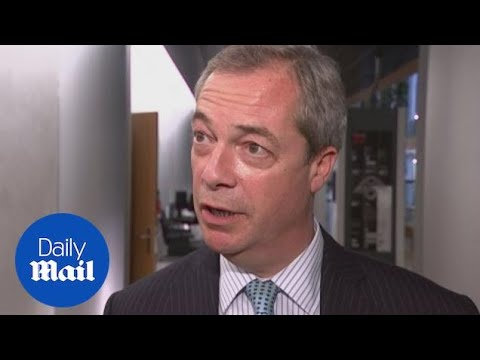 'I'm very flattered': Nigel Farage open to US ambassador role - Daily Mail