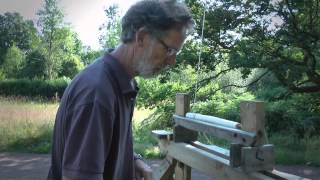 Making a Windsor Chair Leg on a Pole Lathe - Paul Hayden - Greenwood Courses