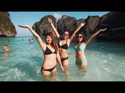MAGICAL PHI PHI ISLANDS! Tour Amazing Thailand Vlog