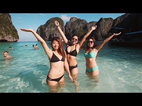 MAGICAL PHI PHI ISLANDS! Tour Amazing Thailand Vlog