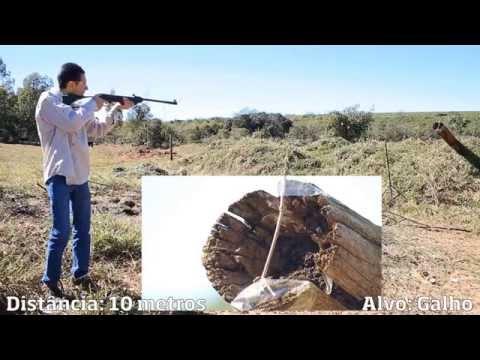 8312de390e5 Testamos a Carabina de Pressão Puma Junior - Ventureshop - YouTube