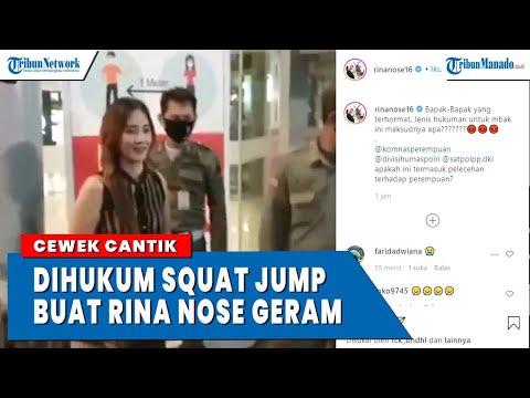 VIRAL Cewek Cantik Manado Dihukum Squat Jump Karena Tak Pakai Masker from YouTube · Duration:  3 minutes 38 seconds