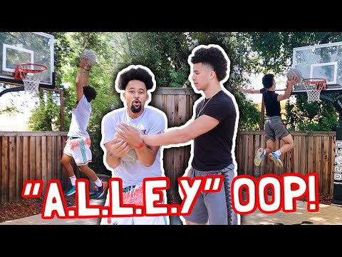 """intense-game-of-""""a.l.l.e.y.""""-oop- -lob-passes-only!"""