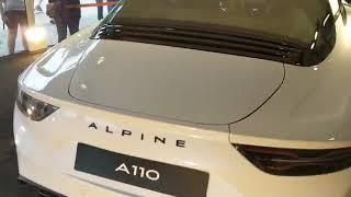 Alpine A110 (2019). À bord de la nouvelle Alpine A110 S