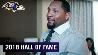 More Footage From Inside Ray Lewis's Hall of Fame Wait