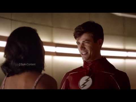 The Flash 4×02 Barry and Iris go to couple therapy