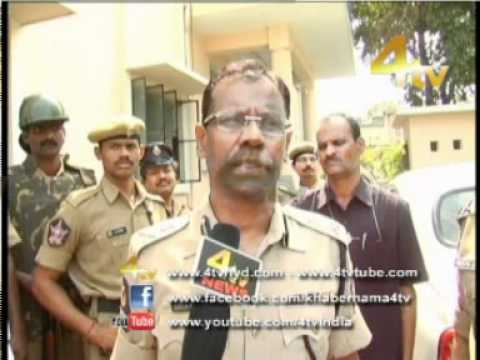 4Tv News Channel (Clashes Between Two Groups, Sayeedabad Details Story) 8-4-2012