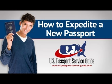 How to Expedite a New Passport