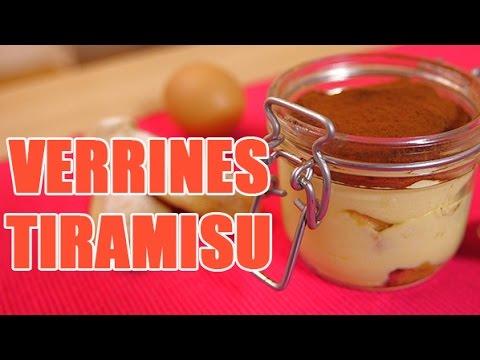 Recette facile de tiramisu chocolat servi en verrine