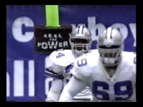 adam vinatieri runs down herschel walker