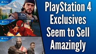 Two Ps4 Exclusives Make Top 10 Best Selling Ps4 Games Of All Time | Days Gone Sells Over 2 Million