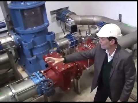 Les réseaux d'eau peuvent produire de l'énergie verte - MICRO-TURBINE HYDRAULIQUE - SUEZ