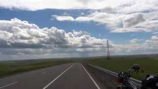 I was traveling on the M58Hwy Russia, Siberia. From the eastern par...