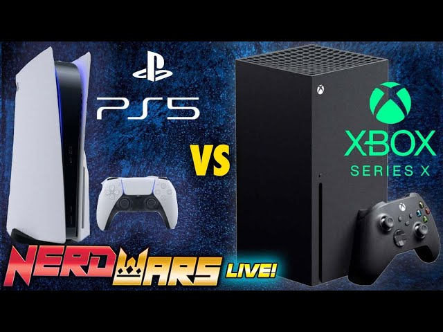 PS5 vs XBox Series X - Which Will Be Best?! - NERD WARS LIVE!