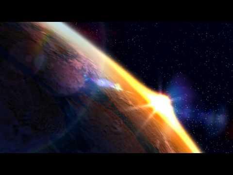 Орбита Земли (фрагмент видео-заставки)