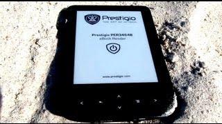 Prestigio Nobile PER3464B - бюджетный электронный ридер - видео обзор(Prestigio Nobile PER3464B — бюджетный электронный ридер с 6-дюймовым E-Ink экраном. Он предназначен в первую очередь для..., 2013-07-04T16:09:08.000Z)