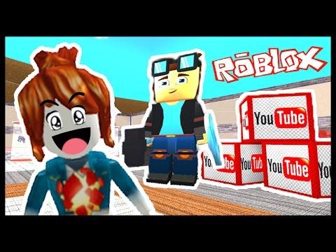 I MET DanTDM! - Roblox - Youtube Factory Tycoon