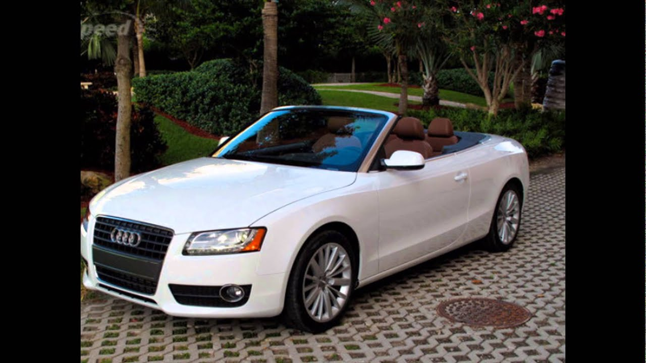 2016 audi a5 cabriolet ibis white youtube. Black Bedroom Furniture Sets. Home Design Ideas