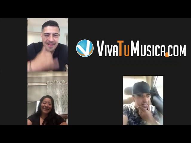 Viva y sus artistas con el Gallito de Morelia