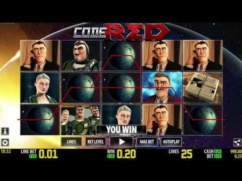 Free Code Red HD Slot by World Match Video Preview | HEX