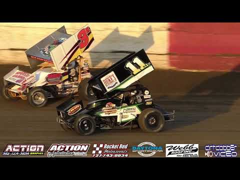 Sprint Car Slow Mo  East Bay Raceway Park 3/30/19