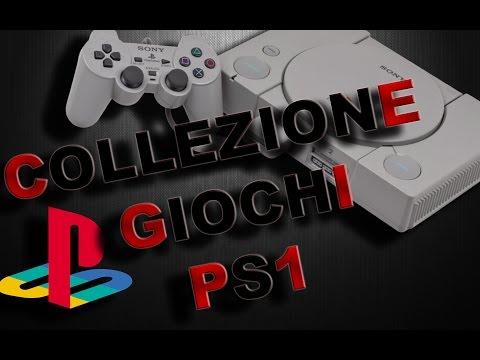COLLEZIONE GIOCHI PS1  HD