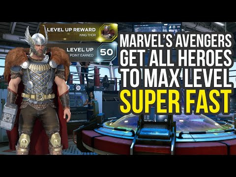 Marvel's Avengers How To Level Up Fast & Get All Skills (Marvel Avengers Level Up Fast)