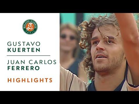 Gustavo Kuerten v Juan Carlos Ferrero Highlights - Men's Semifinal I Roland-Garros 2000