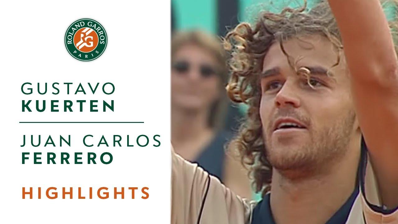Gustavo Kuerten v Juan Carlos Ferrero Highlights Men s Semifinal