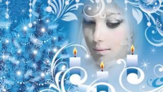 Новогодний снегопад. Серебристые снежинки. Вальс Снежинок
