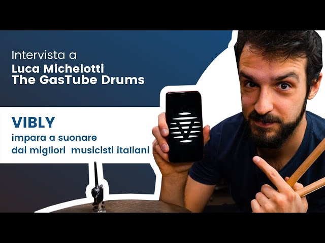 Intervista a Luca Michelotti (The Gas Tube Drums - Vibly) - Parte 2