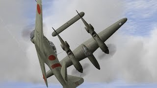 p-38 空の戦い