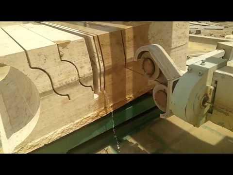 CNC wire saw stone cutting machine - YouTube
