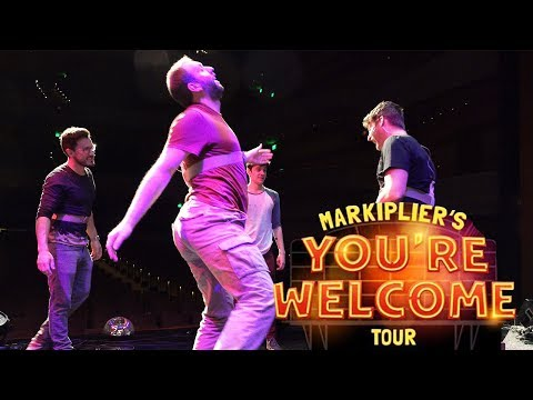 WEST COAST AND EUROPE TIME | Markiplier's You're Welcome Tour
