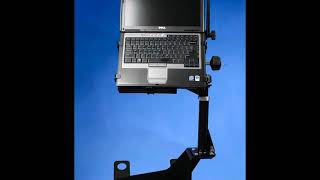 Tough Desk Ultra  Laptop Stand Ergonomic Movement Video