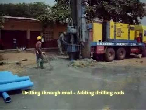 Drilling Borehole - Finally_Water_is_found - Enacent Limited Ghana