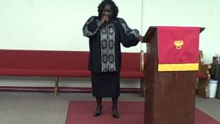 "Apostle Flora Morris  ""You Have Received Power""                                      08/11/12"