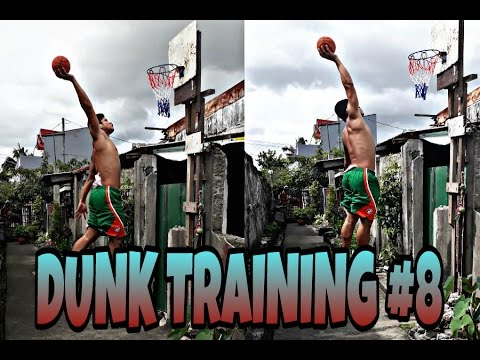 DUNK TRAINING #8 || LOW RIM || FUN DUNK SESH