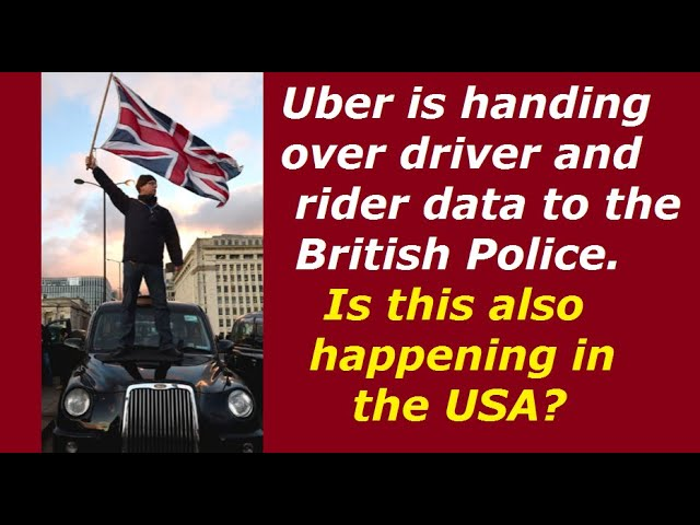 Uber is handing over passenger and driver data to the British Police 2