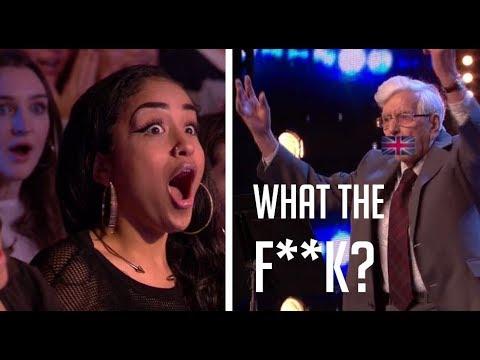 82-Year-old Guy Goes GANGSTA Rapper On BGT!  | Britain's Got Talent 2018
