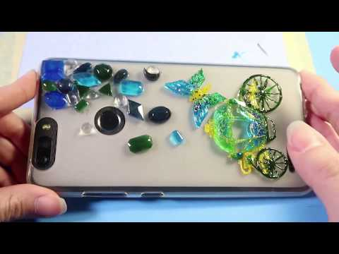 DIY Resin Jewelry | Making Resin Fairy Tale Phone Case | Full Tutor Video