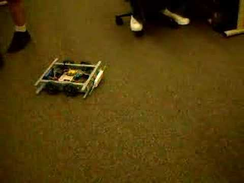 The Bleak Cabal: Roomba Indoor Test, 13 Nov 2007