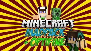 Madpack - How To Add Optifine