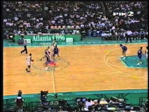 Lithuania - Greece Basketball 1996 Olympics Atlanta