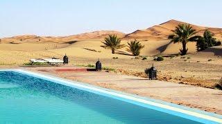 Merzouga Morocco - desert erg