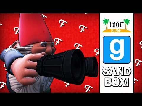 Gmod Skits: Fran & Teddy - Idiot Island Survival Show! (Garrys Mod Sandbox Comedy Gaming)