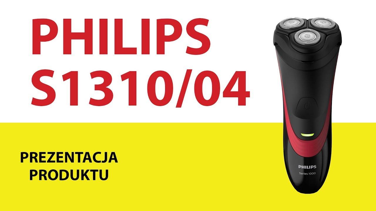 6c7449ed1060dd Golarka PHILIPS S1310/04 - YouTube