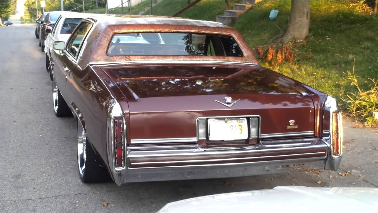 84 cadillac coupe deville custom - YouTube